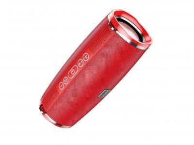 Беспроводная колонка Hoco wireless speaker BS40 IPX5, TWS, FM/BT/AUX/USB/TF, 7Wx2 Red