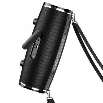 Беспроводная колонка Hoco wireless speaker BS40 IPX5, TWS, FM/BT/AUX/USB/TF, 7Wx2 black