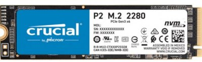 Накопичувач SSD M.2 2280 250GB MICRON (CT250P2SSD8)