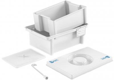 Емкость-контейнер для дезинфекции и обработки медицинских изделий Волес ЕДПО-1-02 (503959)