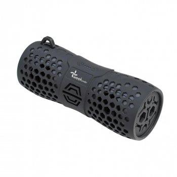 Портативна акустична вологозахисна Bluetooth колонка бумбокс WEEKENDER B30 BLACK 6Вт