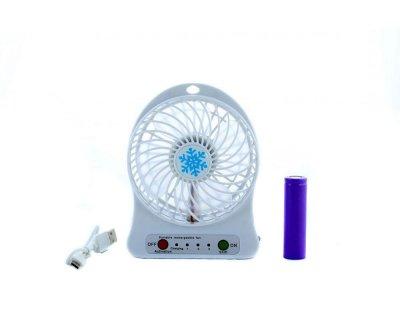 Портативный мини-вентилятор USB + аккумулятор