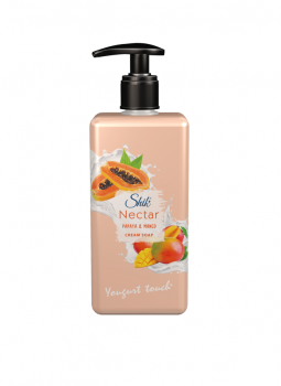 Жидкое крем-мыло ШИК Nectar Папайя и манго 450 мл с дозатором