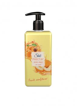 Жидкое гель-мыло ШИК Nectar Дыня и абрикос 450 мл с дозатором