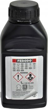 Тормозная жидкость (Ferodo) DOT-4 0.25л. FBX025