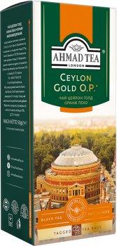 Упаковка чая пакетированного Ahmad Tea Оранж Пеко Голд 16 шт по 25 пакетиков (0054881211888)