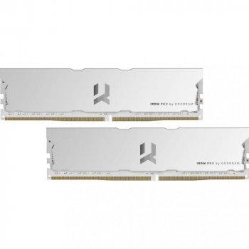 Модуль памяти GoodRam DDR4 16Gb (2x8) 4000 Iridium Pro Hollow White (IRP-W4000D4V64L18S/16GDC)
