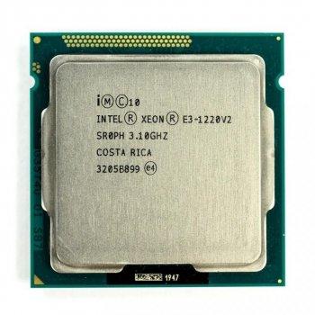 Процессор Intel Xeon E3-1220v2 socket 1155 (аналог i5-3470) б/у