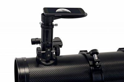 Телескоп Bresser Spica 130/1000 EQ3 Carbon с солнечным фильтром и адаптером для смартфона