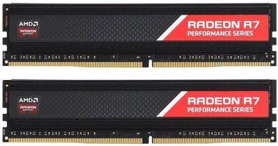 Оперативная память AMD DDR4-2400 32768MB PC4-19200 (Kit of 2x16384) R7 Series (R7S432G2400U2K)