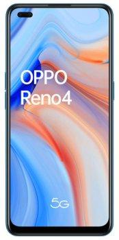 Мобильный телефон OPPO Reno 4 5G 8/128GB Galactic Blue