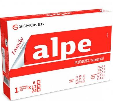 Пластырь Alpe Family Rollfix тканевый 12.5 мм x 4.5 м (000000550а)