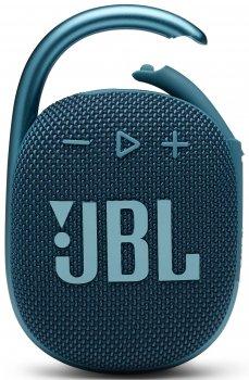 Акустическая система JBL Clip 4 Blue (JBLCLIP4BLU)