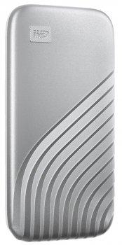 Western Digital My Passport 500GB USB 3.2 Type-C Silver (WDBAGF5000ASL-WESN) External (JN63WDBAGF5000ASL-WESN)