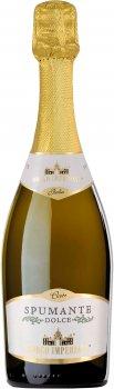 Вино игристое Borgo Imperiale Spumante Bianco Dolce Tfs белое сладкое 0.75 л 9.5% (8008820148768)