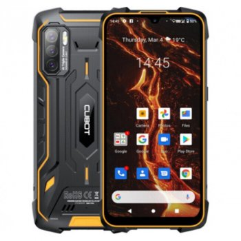 """Мобільний телефон Cubot KingKong 5 Pro black-orange 4/64Gb 6.09"""" 8000mAh 48/5/0,3Мп NFC (174 zp)"""