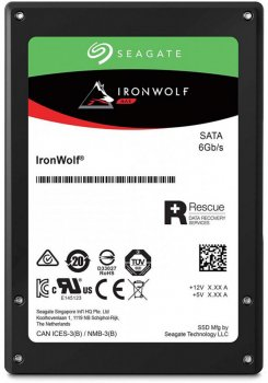 "Seagate IronWolf SSD 480GB 2.5"" SATAIII 3D TLC (ZA480NM10011)"