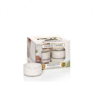 Чайные ароматические свечи в наборе МАСЛО ШИ / Yankee Candle SHEA BUTTER tea lights 1332217E