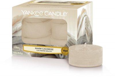 Чайные ароматические свечи в наборе Теплый кашемир / YANKEE CANDLE WARM CASHMERE TEA LIGHTS 1556256E
