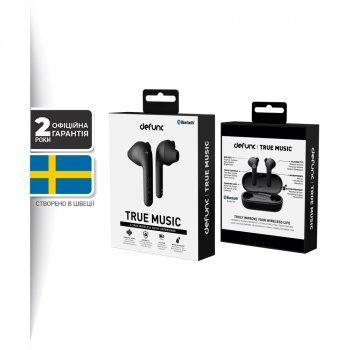 Навушники Defunc True Music TWS Black (D4271M)