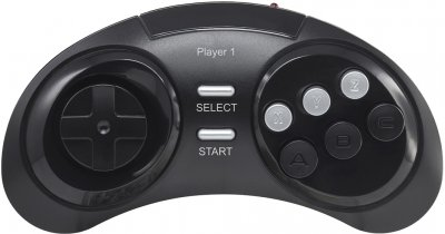 Ігрова консоль Retro Genesis 16 bit HD Ultra 225 ігор, 2 бездротових джойстики, HDMI-кабель (CONSKDN73)