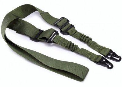 Тактический ремень Tactic двухточечный для оружия (rambo-olive)