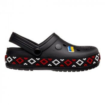 Сабо Dago Style 422 Черные с красным