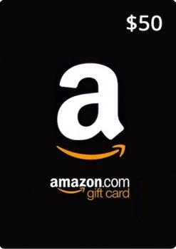 Amazon Gift Card 50 USD, (US-регион)