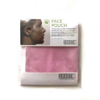 Очищувальні серветки для обличчя Smart Microfiber System Міні рукавичка 10см*10см Рожева
