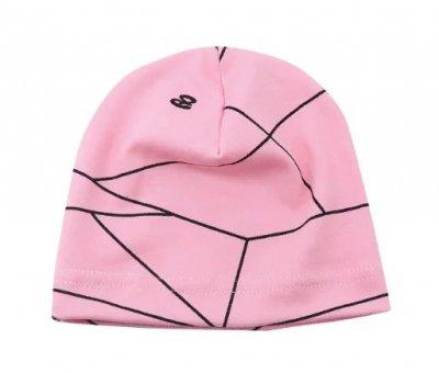 Однослойная трикотажная шапочка для детей Mу Joy 4 мес.- 2 года ОГ 44-50 см Розовый (071134)