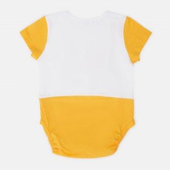 Боди-футболка Garden Baby 19907-03 Белый/Желтый