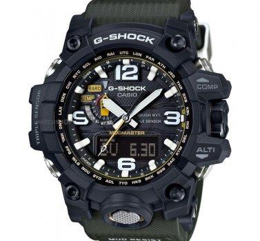 Чоловічий годинник Casio G-SHOCK Mudmaster Triple Sens GWG-1000-1A3ER