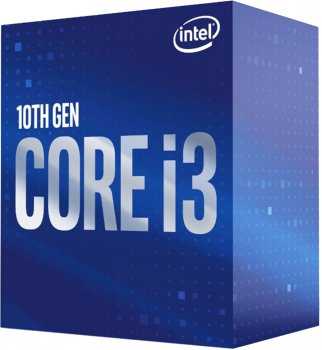 Процесор Intel Core i3-10100 BX8070110100 (s1200, 3.6 GHz) Box (6577355)