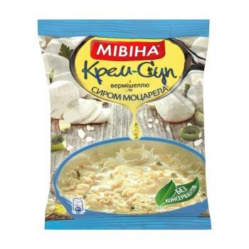 Упаковка крем-супу МІВІНА Вермішель Сир 67 г х 44 шт (4820048619776_7613039125496)