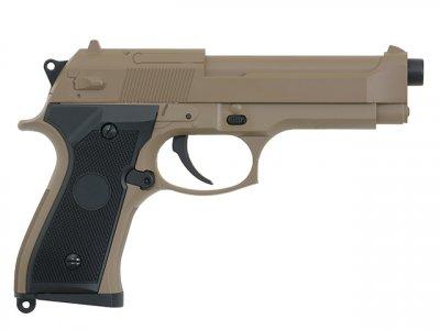 Пістолет Cyma Beretta M92F/M9 CM.126 Tan AEP (Страйкбол 6мм)