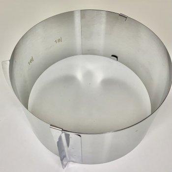Форма для випічки розсувна A-Plus від 16 до 30 см Висота 14 см
