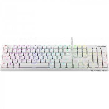 Клавиатура Hator Rockfall EVO Kailh Optical White (HTK-615)