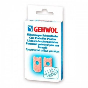 Мозольный пластырь Gehwol Huhneraugenpflaster, 9 шт (1*26112/1)