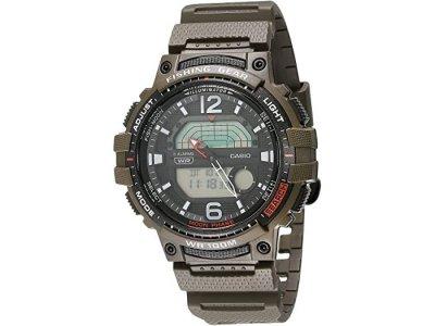 Чоловічі годинники Casio WSC-1250H-3AVCF для риболовлі