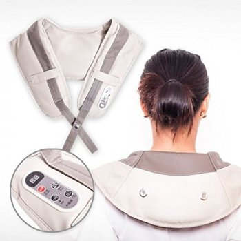 Вибромассажер Cervical Massage Shawls Бежевый