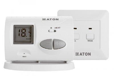 Термостат ATON Т3 WL цифровий кімнатний програмований безпровідний
