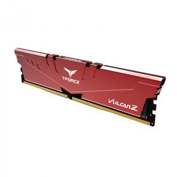 Модуль пам'яті DDR4 8GB/2666 Team T-Force Vulcan Z Red (TLZRD48G2666HC18H01)
