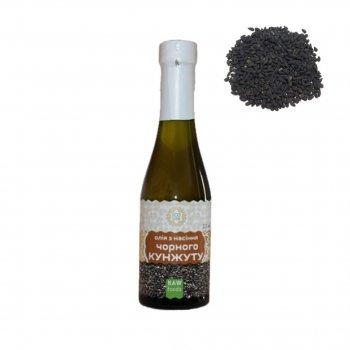 Масло семечек кунжута чёрного Ecoliya 200 мл RAW