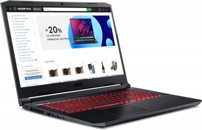 Ноутбук Acer Nitro 5 AN517-52-59DA (NH.QAWEU.009) Obsidian Black