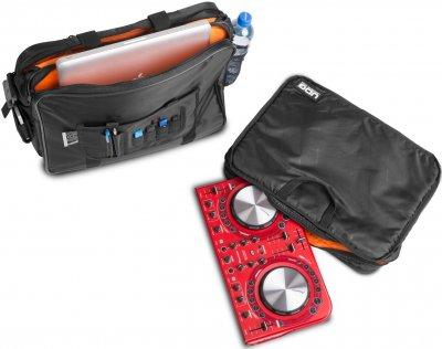 """Сумка UDG Ultimate CourierBag DeLuxe 17"""" Black/Orange Inside (U9490BL/OR)"""