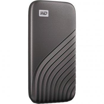 USB SSD накопичувач WD My Passport SSD 500GB USB3.2 Space Gray (WDBAGF5000AGY-WESN)