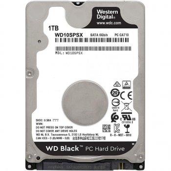 """Жорстку диск для ноутбука 2.5"""" 1TB Western Digital (WD10SPSX)"""