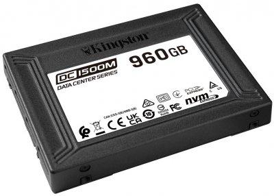 Kingston SSD DC1500M 960GB U.2 PCIe 3.0 x4 3D NAND (TLC) (SEDC1500M/960G)