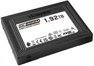 Kingston SSD DC1500M 1.92TB U.2 PCIe 3.0 x4 3D NAND (TLC) (SEDC1500M/1920G)