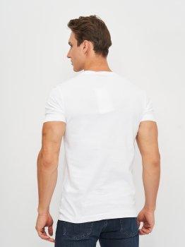 Футболка Calvin Klein Jeans Micro Branding Essential Ss Te J30J318067-YAF Ck White